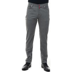 Abbigliamento Uomo Chino Kiton UPNJSM-1T882 Grigio medio