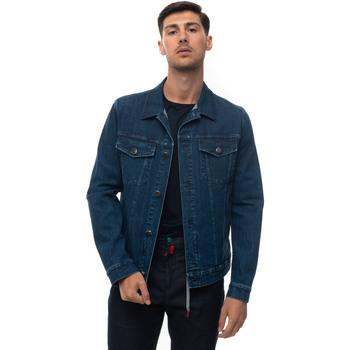 Abbigliamento Uomo Giacche in jeans Kiton UW0672A-V07S661 Denim medio