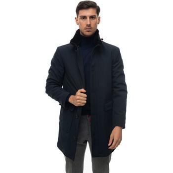 Abbigliamento Uomo Cappotti Kiton UW0802-V03T5115 Blu