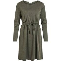 Abbigliamento Donna Abiti corti Vila VIJUNER L/S DRESS verde