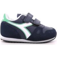 Scarpe Unisex bambino Sneakers basse Diadora 184 - 101.175082 Blu