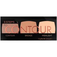 Bellezza Donna Contorno occhi & correttori Catrice 3 Steps To Contour Palette 010-allrounder 7,5 Gr 7,5 g