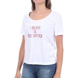 Abbigliamento Donna T-shirt maniche corte Pieces 17102896 Bianco