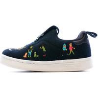 Scarpe Bambina Slip on adidas Originals EE6291 Nero