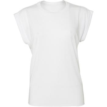 Abbigliamento Donna T-shirt maniche corte Bella + Canvas BE8804 Bianco
