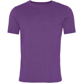 Abbigliamento Uomo T-shirt maniche corte Awdis JT099 Viola
