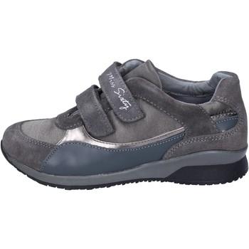 Scarpe Bambina Sneakers basse Miss Sixty sneakers camoscio tessuto grigio