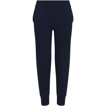 Abbigliamento Unisex bambino Pantaloni da tuta Awdis JH74J Blu scuro