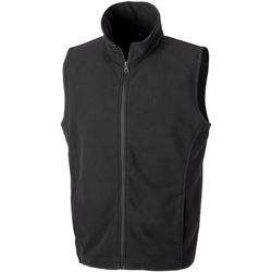 Abbigliamento Uomo Gilet / Cardigan Result R116X Nero