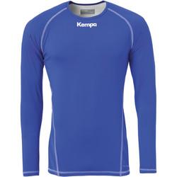 Abbigliamento Uomo T-shirts a maniche lunghe Kempa Maillot de compression ML  Attitude bleu roi
