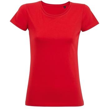 Abbigliamento Donna T-shirt maniche corte Sols 02077 Rosso