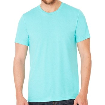 Abbigliamento T-shirt maniche corte Bella + Canvas CV3413 Blu