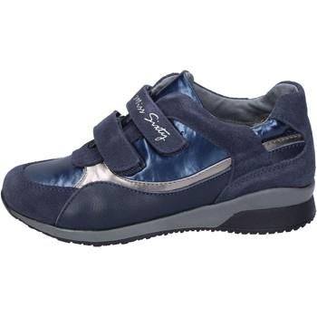 Scarpe Bambina Sneakers Miss Sixty sneakers camoscio tessuto blu