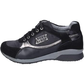 Scarpe Bambina Sneakers Miss Sixty sneakers camoscio tessuto nero