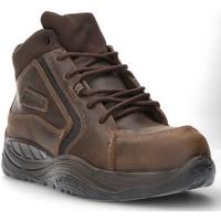 Scarpe Uomo Sneakers alte Calzamedi STIVALE DI SICUREZZA COFRA ESALEN S3 SAGUYS M MARRONE