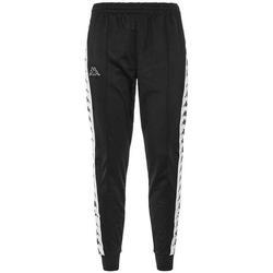 Abbigliamento Uomo Pantaloni da tuta Kappa PANT.FELPA BIANCO 303KUC0 Nero