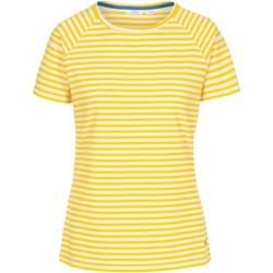Abbigliamento Donna T-shirt maniche corte Trespass  Giallo righe