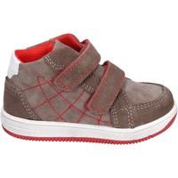 Scarpe Bambino Sneakers alte Didiblu sneakers camoscio pelle sintetica marrone