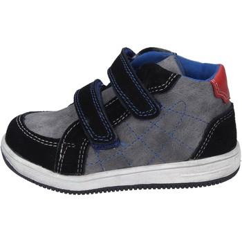 Scarpe Bambino Sneakers Didiblu sneakers camoscio pelle sintetica nero