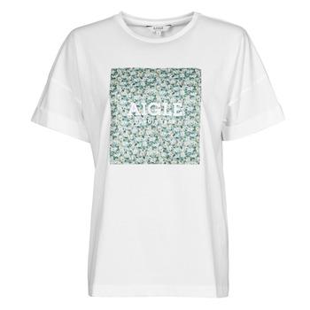 Abbigliamento Donna T-shirt maniche corte Aigle RAOPTELIB Bianco
