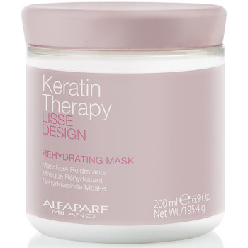 Bellezza Donna Maschere &Balsamo Alfaparf Lisse Design Keratin Therapy Rehydrating Mask  200 ml
