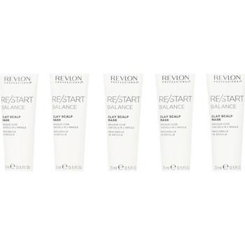 Bellezza Donna Maschere &Balsamo Revlon Re-start Balance Clay Scalp Mask 10x15 Ml 150 ml