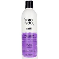Bellezza Donna Shampoo Revlon Proyou The Toner Shampoo  350 ml