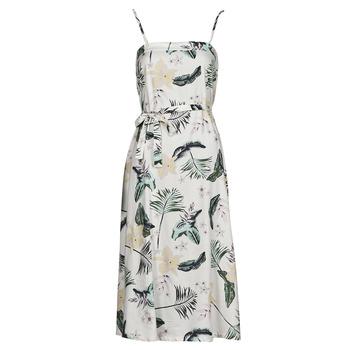 Abbigliamento Donna Abiti lunghi Roxy NOWHERE TO HIDE Bianco
