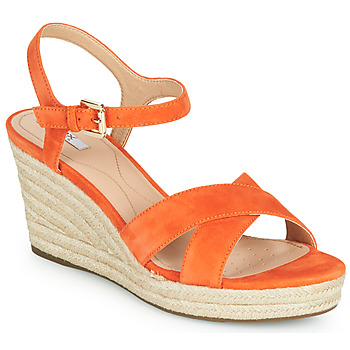 Scarpe Donna Sneakers basse Geox D SOLEIL Arancio