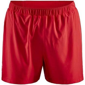 Abbigliamento Uomo Shorts / Bermuda Craft Adv Essence 5 Stretch Rosso