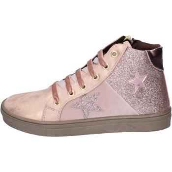 Scarpe Bambina Sneakers Asso BK216 Rosa