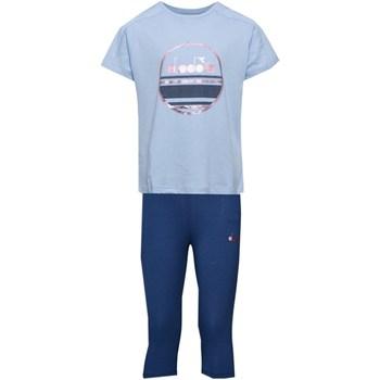 Abbigliamento Bambino Tuta Diadora 102.175918 Tute Bambino Azzurro Azzurro
