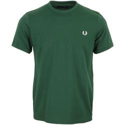 Abbigliamento Uomo T-shirt maniche corte Fred Perry Ringer T-Shirt Verde