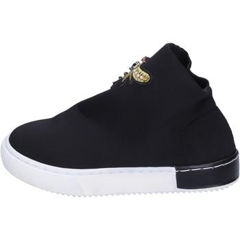 Scarpe Bambina Sneakers Joli sneakers tessuto nero