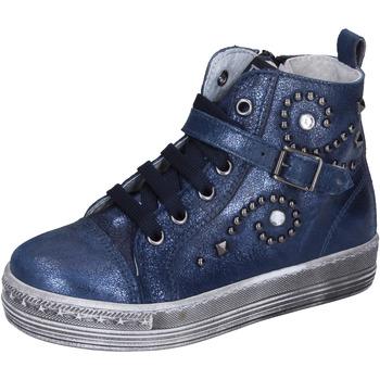 Scarpe Bambina Sneakers Eb BK243 Blu