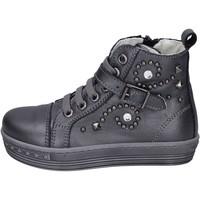 Scarpe Bambina Sneakers alte Eb BK244 Grigio