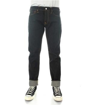 Abbigliamento Uomo Jeans dritti Evisu 1EAHTM9JE10310 Indigo (raw)