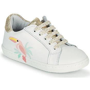 Scarpe Bambina Sneakers basse GBB EDONIA Bianco