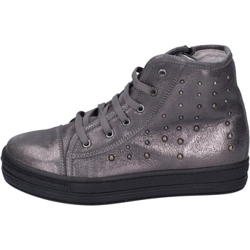 Scarpe Bambina Sneakers alte Eb BK246 Grigio