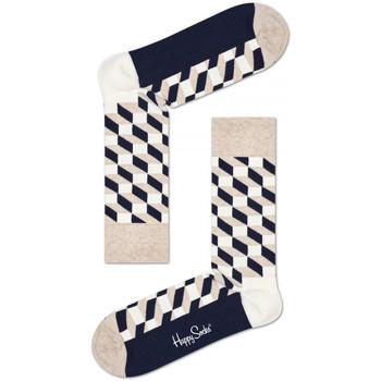 Accessori Uomo Calzini Happy Socks Filled optic sock Multicolore