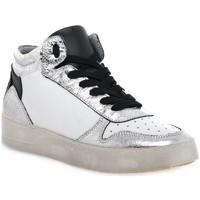 Scarpe Donna Sneakers alte At Go GO DUCK ARGENTO Grigio