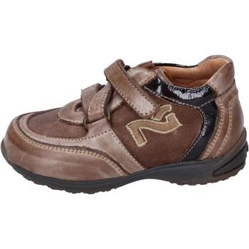 Scarpe Bambino Sneakers Nero Giardini sneakers pelle camoscio marrone