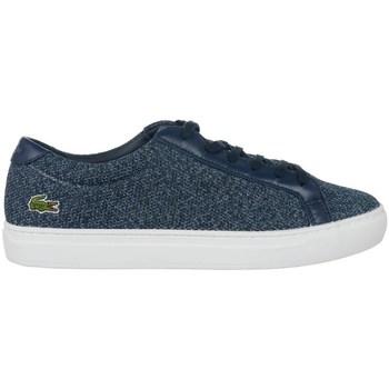 Scarpe Donna Sneakers basse Lacoste L 12 12 317 2 Caw Bianco, Blu marino