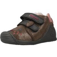 Scarpe Bambina Sneakers alte Biomecanics 201114 Marrone