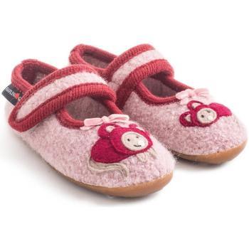 Scarpe Bambina Scarpette neonato Haflinger 48311083 Rosa