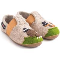 Scarpe Unisex bambino Scarpette neonato Haflinger 48311187 Beige