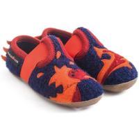Scarpe Unisex bambino Scarpette neonato Haflinger 48311370 Blu