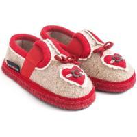 Scarpe Unisex bambino Scarpette neonato Haflinger 62306649 Beige