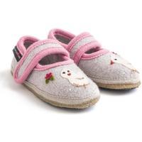 Scarpe Bambina Scarpette neonato Haflinger 67306102 Grigio