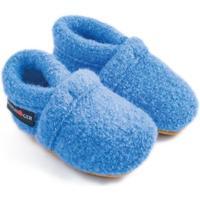 Scarpe Unisex bambino Scarpette neonato Haflinger 65100556 Blu